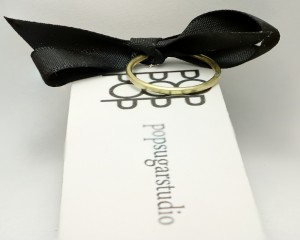 POP Brass Ring on a card